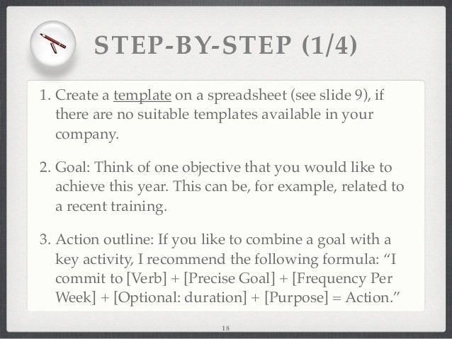 Got a Goal? Create a Personal Development Plan!