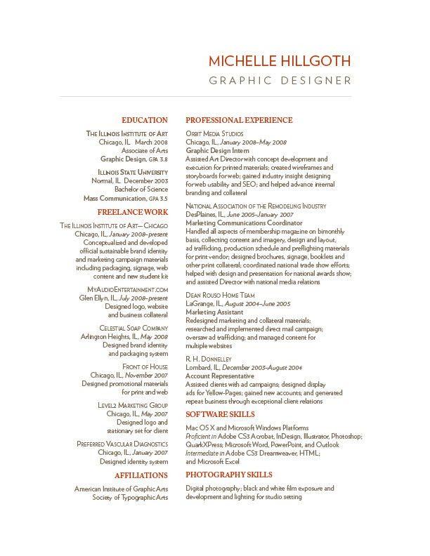 two column resume design | Design | Branding | Pinterest | Resume ...
