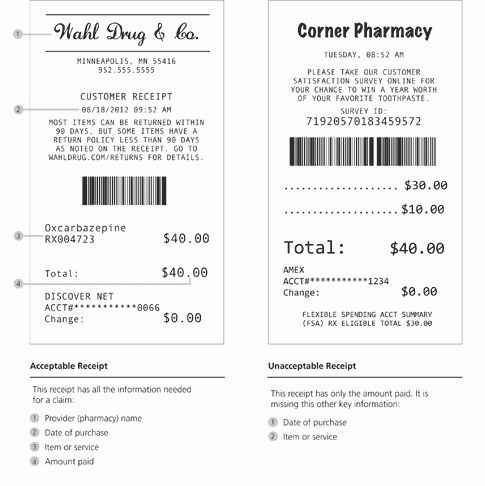 Why We Ask For Receipts - OptumHealthFinancial.com