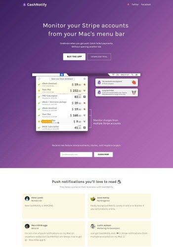 21+ Examples of Payment Landing Page Designs to inspire you