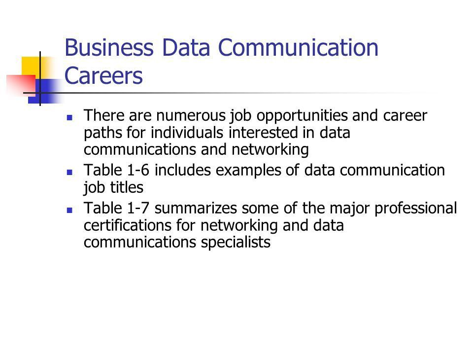 Business Data Communications - ppt download