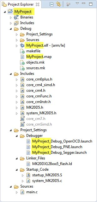 Renaming Eclipse CDT Projects   MCU on Eclipse