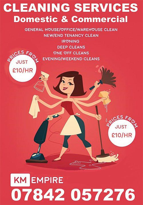 KM Cleaning Services 07842 057 276 – The Bolton Directory ...