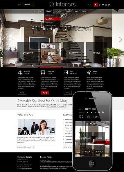 Interior Design Wordpress Theme | Best Website Templates
