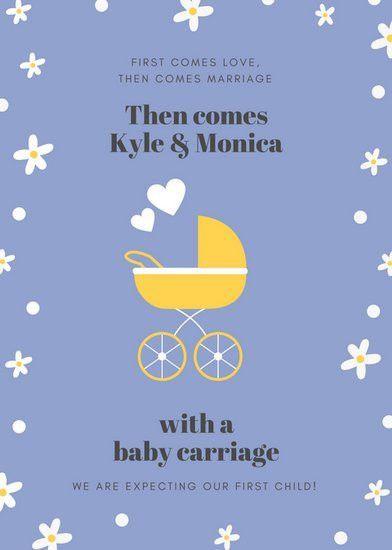Pregnancy Announcement Templates - Canva