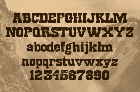 Wanted – A Free Old West Style Title Font