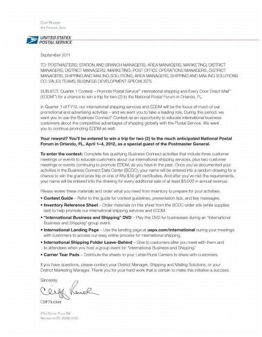 Usps application cover letter - Buy paper