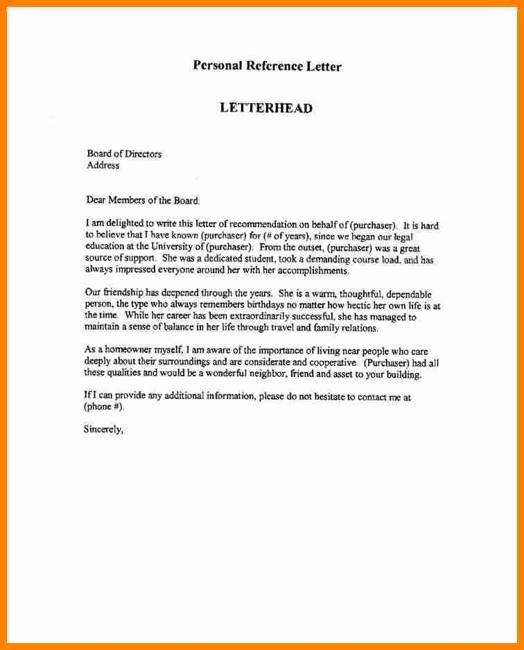 Professional Reference. Business Professional Reference Letter 31+ ...