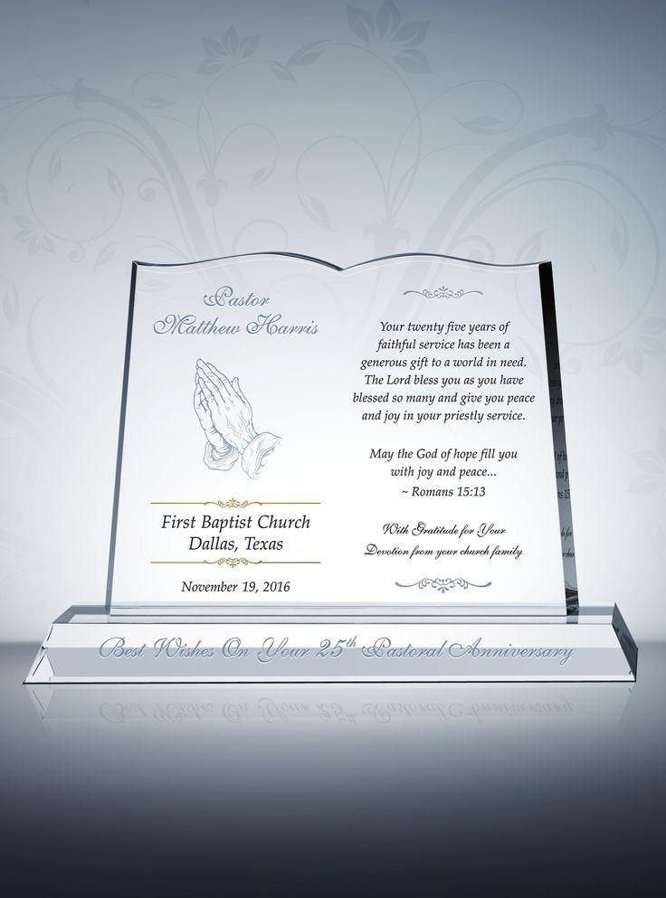 215 best Pastor Gift Plaques images on Pinterest | Appreciation ...