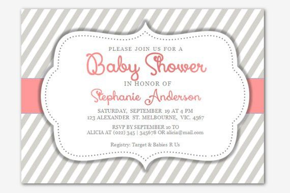 Free Baby Shower Invitations Templates for Word | Baby Shower for ...