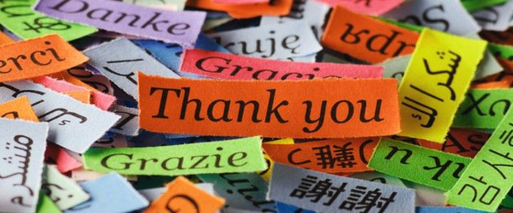 A big thank you for your help – and exciting new opportunities to ...