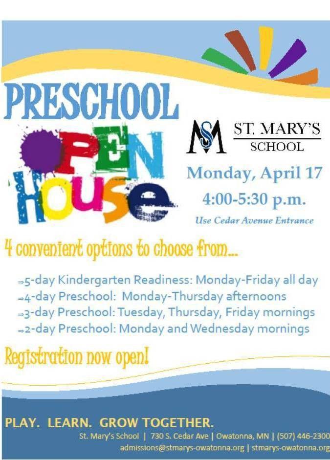 Flyers For Preschool Open House School Flyer | www.gooflyers.com