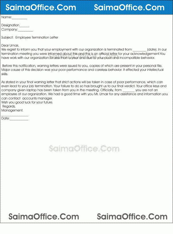 Sample Termination Of Employment Contract Philippines   Create ...
