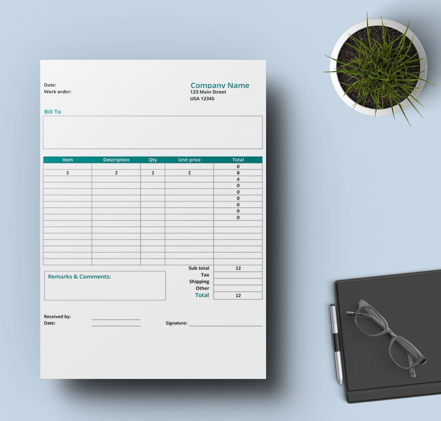 7+ Free Order Form Templates - T-Shirt, Sales, Purchase ...