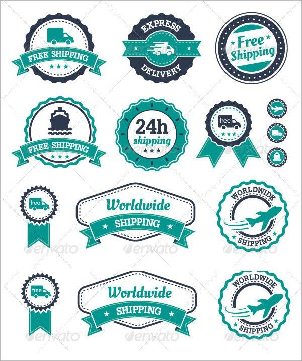 Shipping Label Template 27+ Free PSD, EPS, AI, Illustrator Format ...