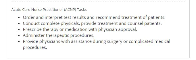 Acute Care Nurse Practitioner: Programs, Salary, Jobs