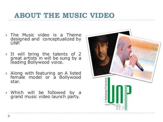 Music Video - Sponsorship proposal