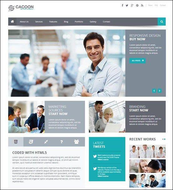 15+ Best WordPress Business Themes 2016