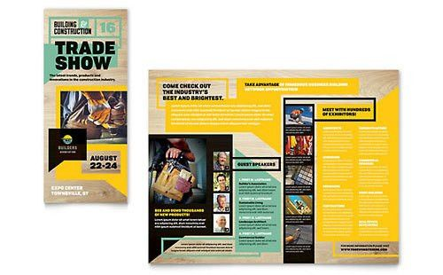 Business Events | Tri Fold Brochure Templates