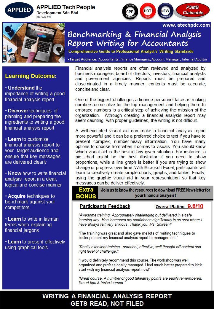 Analysis Report Writing - Resume Templates