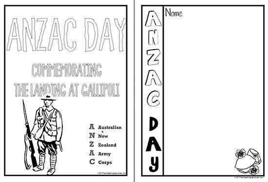 ANZAC Day | Writing Template | Blank Page | ABC Teaching Resources