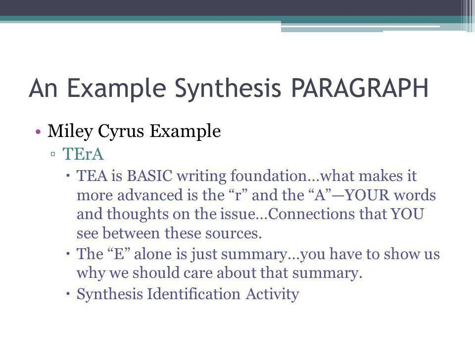 Synthesize and Create an Argument! - ppt video online download