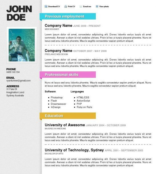resume template australia word download 275 free resume templates