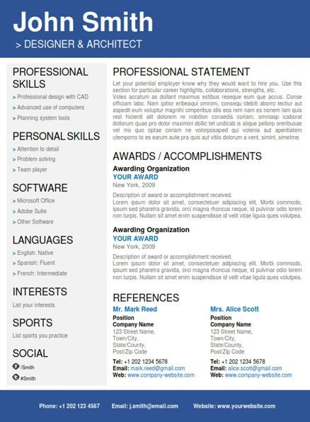 StyleresumesProfessional Resumes. Completely Transform Your Résumé ...