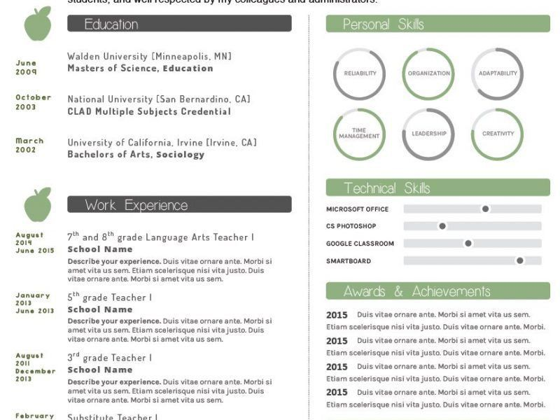 Bright Design How To Make Your Resume Stand Out 7 Professionally ...