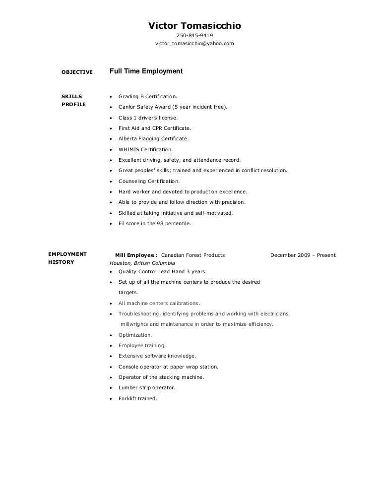 Console Operator Sample Resume Computer Operator Resume It Job