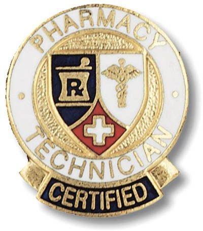 Pharmacy Technician Certified Medical Emblem Lapel Pin | Pharmacy ...