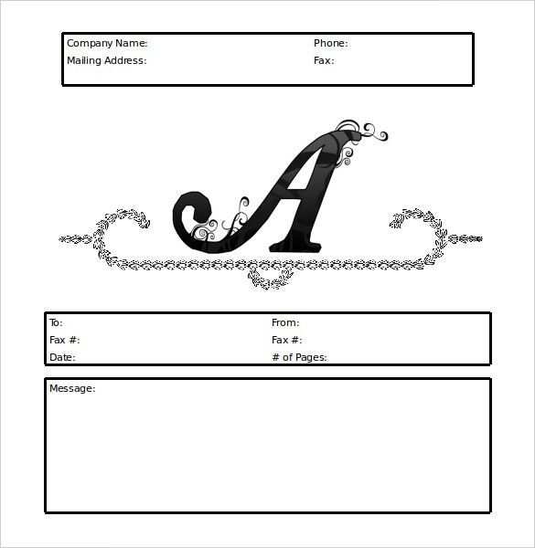 9+ Fax Cover Sheet Templates – Free Sample, Example, Format ...