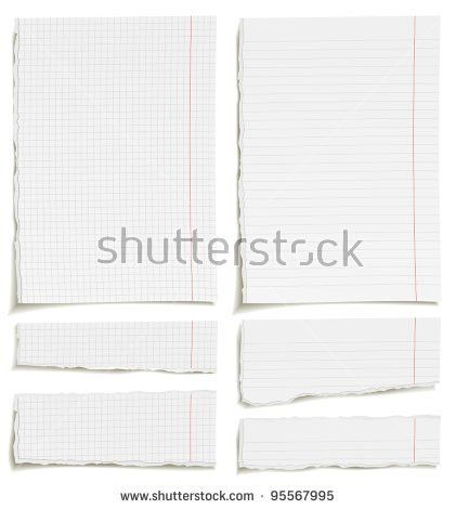 Torn Notebook Paper Stock Images, Royalty-Free Images & Vectors ...