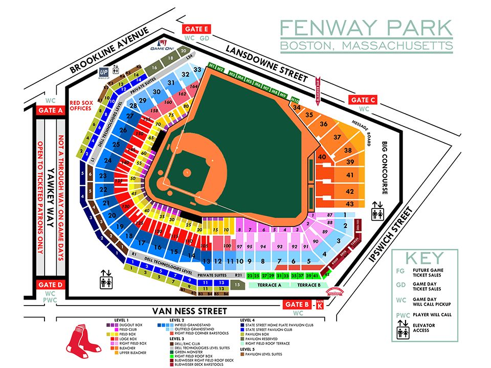 Fenway Park Seating and Pricing | MLB.com