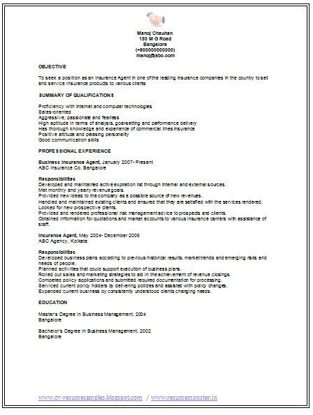 Professional Curriculum Vitae / Resume Template for All Job ...