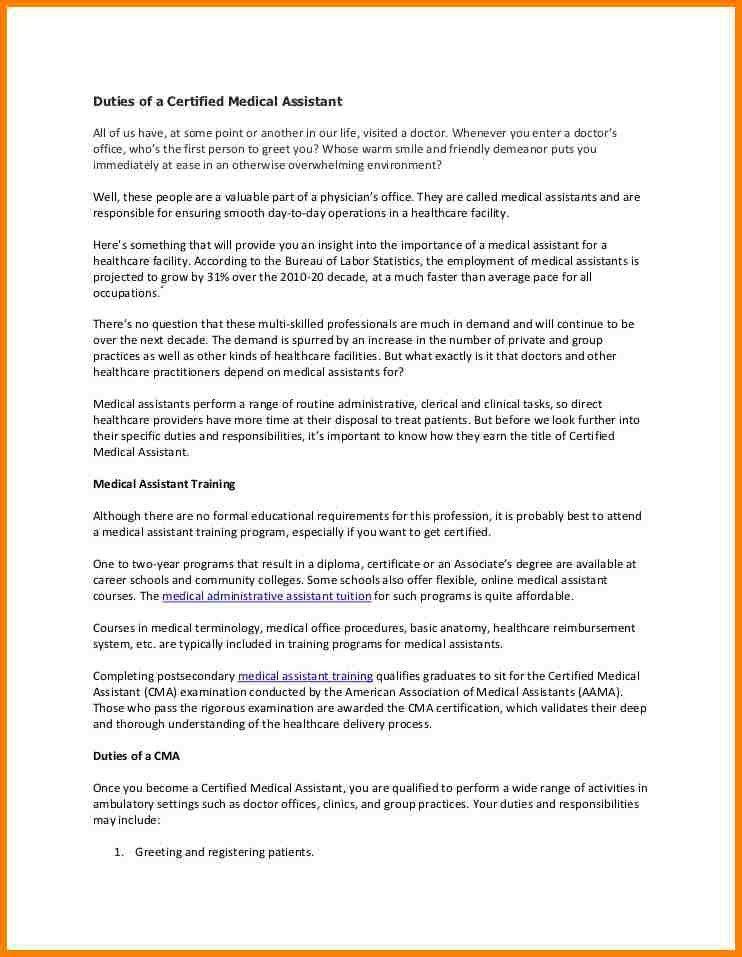 10+ medical assistant duties | monthly bills template