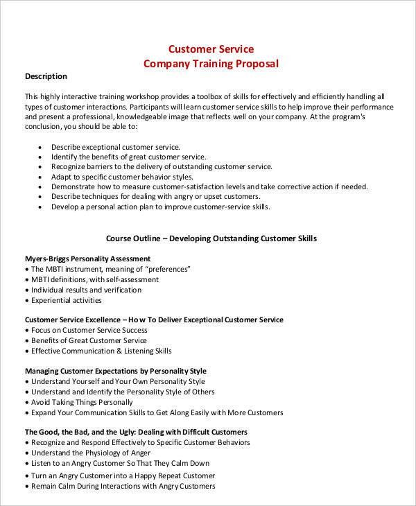 4+ Training Business Proposal Templates | Free & Premium Templates