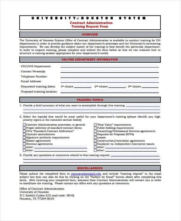 Training Form Sample] Training Evaluation Form 15 Download Free ...