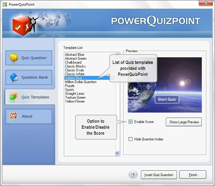 How to create a quiz. - PresentationPro