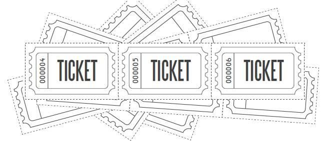 Customized Raffle Ticket Blanks | Free Printables Online
