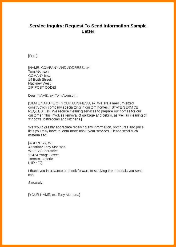 7+ service request letter format | resume emails