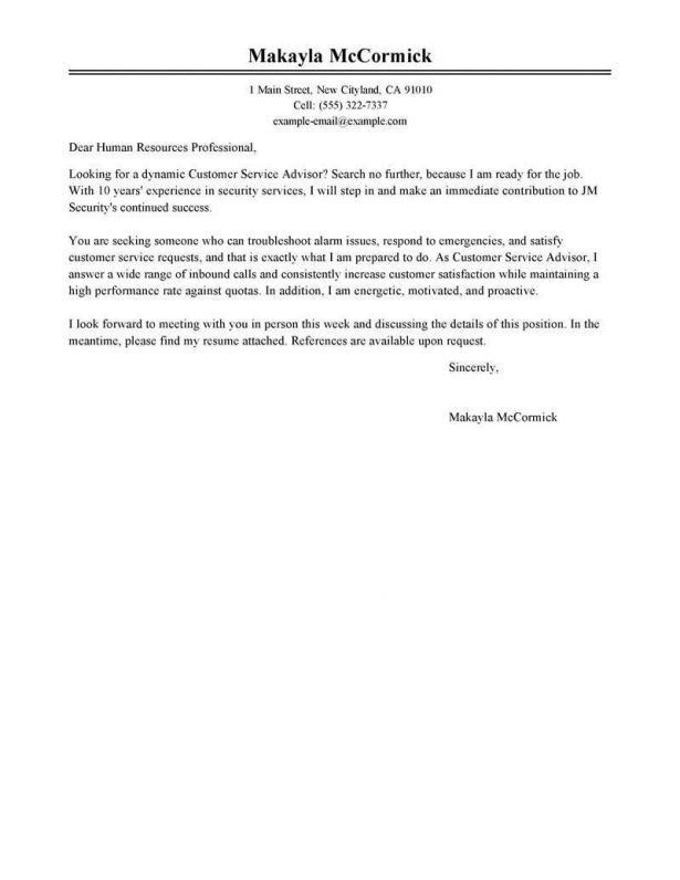Resume : Examples Of A Cover Letter Example Of Application Letter ...