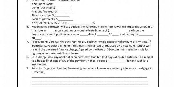Free Loan Agreement Template Between Friends Free Loan Agreement ...