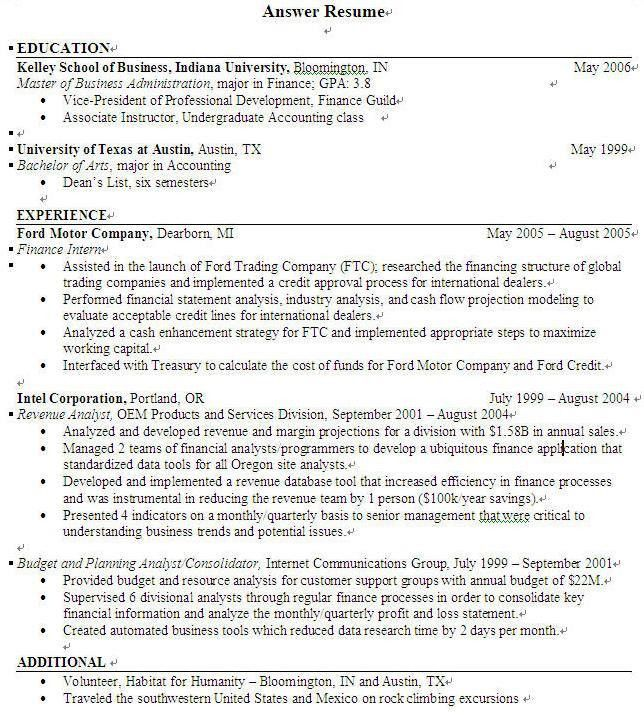 resume for undergraduate resume template for undergraduate