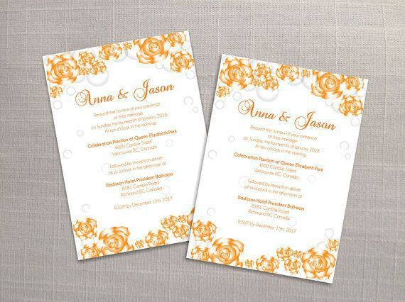 25+ parasta ideaa Pinterestissä: Wedding invitation card template ...