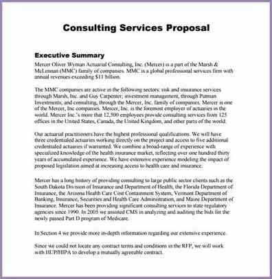 CONSULTING PROPOSAL TEMPLATE | Samplenotary.cam