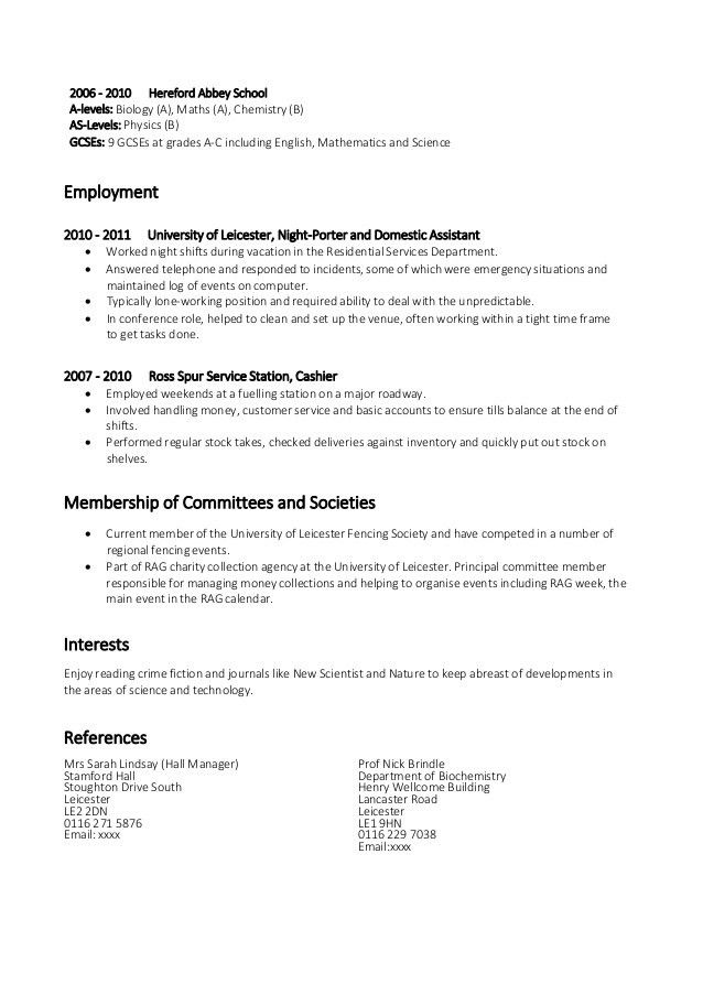 biology and chemistry student resume sample are downloadable as ...
