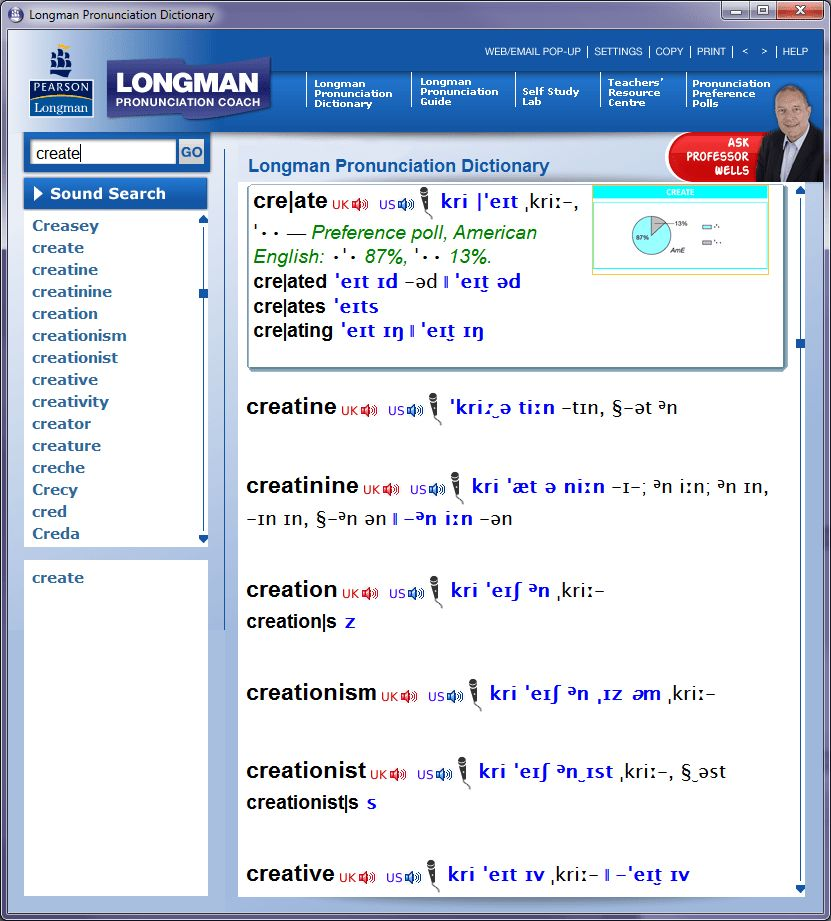Comparative review of English pronunciation dictionaries | Antimoon