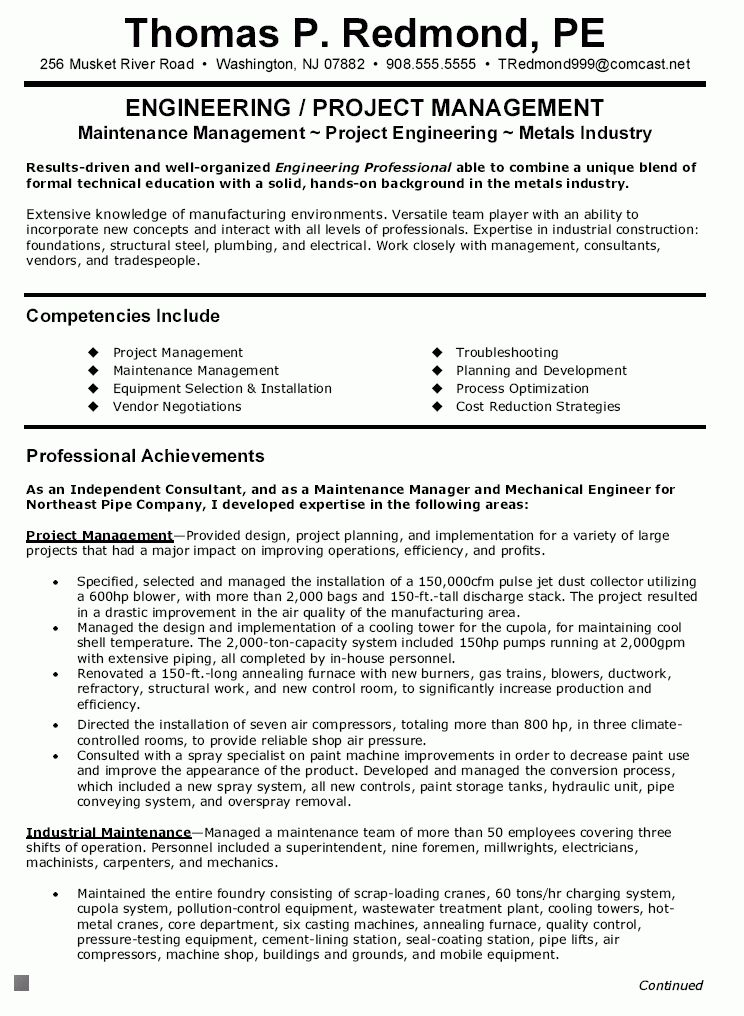 Consulting Resume Objective consulting resume - Writing Resume ...