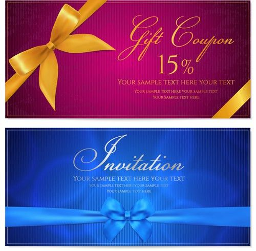 coupon vector for free download
